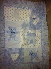 Buy Lamb & Ivy Baby Boy Ruffle Blanket