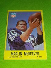 Buy VINTAGE MARVIN McKEEVER RAMS1967 TOPPS #92 GD/VG
