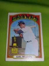 Buy VINTAGE EARL WILLIAMS BRAVES 1972 TOPPS #380 GD