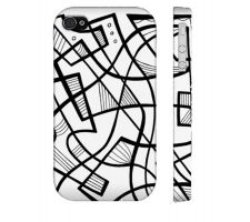 Buy Guye Black White Iphone 4/4S Phone Case