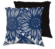 Buy Sundborg 18x18 Blue White Pillow Flowers Floral Botanical Cover Cushion Case Throw Pi