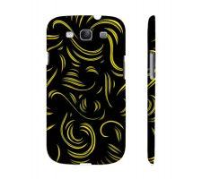 Buy Monrroy Yellow Black Samsung Galaxy S3 Phone Case