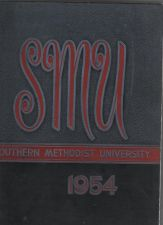 Buy 1954 SMU Southern Methodist University Yearbook JANE MANSFIELD RAYMOND BERRY