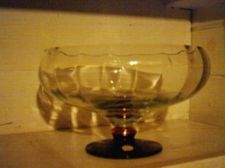 Buy NEW Made in Romania hand crafted large crystal Punch/Salad bowl with Brass and B