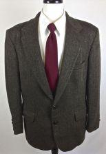 Buy Barrington Blazer Mens 42 R Brown Wool Sport Coat Jacket
