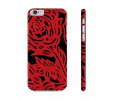 Buy Spratling Red Black Flowers Floral Botanical Iphone 6 Phone Case