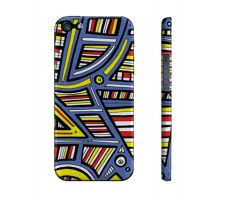 Buy Striegel Yellow Red Blue Iphone 5/5S Phone Case