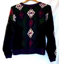 Buy EUC womens, Sz. M, Casual Clothing Company. multi-color, long sleeve, sweater