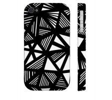 Buy Aiuto Black White Iphone 4/4S Phone Case