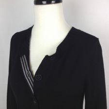 Buy Banana Republic Sweater S Womens Black Wool Long Sleeve