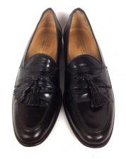 Buy Johnston Murphy Shoes 9.5 Mens Black Leather Loafers