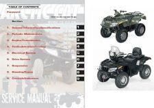 Buy 2008 Arctic Cat ATV Service Repair Manual CD ..- ArcticCat 400 500 650 700