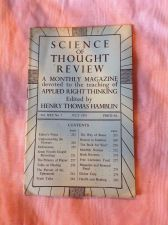 Buy SCIENCE OF THOUGHT REVIEW Applied Right Thinking Henry T. Hamblin July 1951