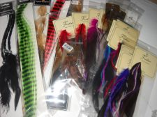 Buy Feather hair clips assorted styles color lot 22 crafts beauty SALE