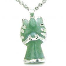 Buy Brazilian Lucky Agate Slice Charm with Multi Tumbled Gemstones Amulet Pendant