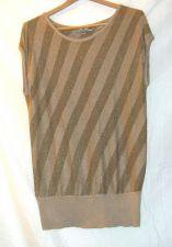 Buy EUC women's, Sz. XL, Worthington, metallic gold/tan, sleeveless, sweater