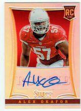 Buy NFL 2014 Panini Select Alex Okafor AUTO RC /99 NICE