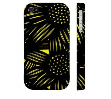 Buy Rosasco Yellow Black Iphone 4/4S Apple Phone Case Flowers Botanical