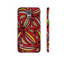 Buy Huter Yellow Red Black Samsung Galaxy S5 Phone Case