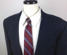 Buy Mark Shale Blazer 42 R Mens Blue Wool Sport Coat Jacket