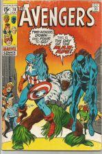 Buy AVENGERS #78 Marvel Comics 1st Print & Series 1970 BLACK PANTHER, QUICKSILVER