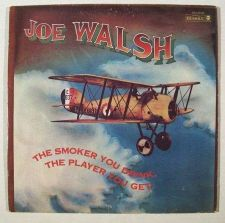 Buy JOE WALSH ~ The Smoker You Drink, The Player You Get 1973 Rock LP