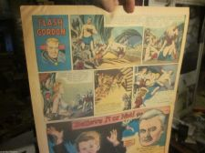 Buy Sun. Newspaper Strip: Aug. 29, 1948 FLASH GORDON, ad, Snookums, Bring Up Father