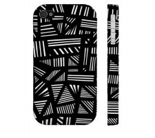 Buy Cersey Black White Iphone 4/4S Phone Case