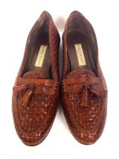 Buy Cole Haan Shoes 9.5 Womens Brown Leather Loafers
