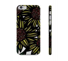 Buy Gamblin Yellow Black Flowers Floral Botanical Iphone 6 Phone Case