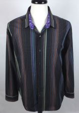 Buy J Garcia Shirt XL Mens Multicolor Long Sleeve Cotton