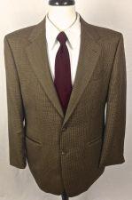 Buy Ralph Lauren Blazer Mens 40 R Brown Wool Sport Coat Jacket