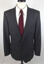 Buy Ralph Lauren Blazer 40 R Mens Gray Wool Sport Coat Jacket