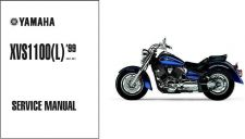 Buy Yamaha XVS1100 V-Star / Dragstar 1100 Service Repair & Owner' Manual CD - VStar