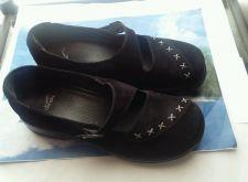 Buy DANSKO WOMEN'S SIZE 39 BLACK SUEDE SHOE. CUTE & COMFORTABLE!