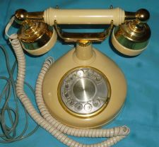 Buy Western Electric Bell Telephone Rotary French Imperial Cradle Style Princess