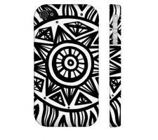 Buy Vair Black White Iphone 4/4S Phone Case