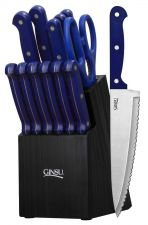 Buy NEW Ginsu Knives Cutlery Set Essential Series 14-Piece Blue