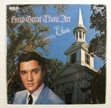 Buy ELVIS PRESLEY ~ How Great Thou Art 1971 Gospel LP MINT-Unopened