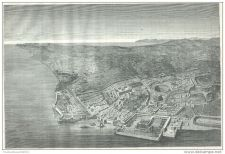 Buy TUNISIA - VIEW OF UTIQUE (RESTORED CONDITIONS) - engraving from 1872