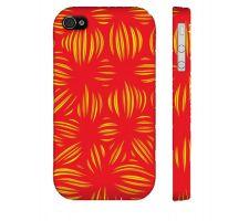 Buy Falah Yellow Red Iphone 4/4S Phone Case