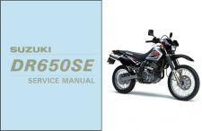 Buy 1996-2009 Suzuki DR650SE Repair Service Manual CD -- DR650 DR 650 SE