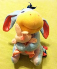 "Buy Disneys Pooh Babies ""My First Eeyore"" Plush by Fisher Price"
