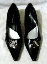 Buy EUC Women's Black Highlights Size 10 Pumps Shoes