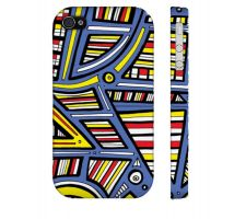 Buy Lupfer Yellow Blue Iphone 4/4S Phone Case