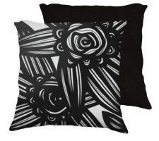 Buy Puyear 18x18 Black White Pillow Flowers Floral Botanical Cover Cushion Case Throw Pil