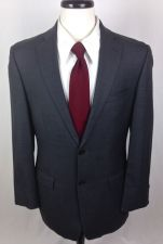 Buy DKNY Blazer Mens 38 R Gray Wool Sport Coat Jacket