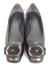 Buy Cole Haan Shoes 7 Womens Gray Leather Ballet Flats