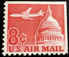 Buy 1962 8c Jet over Capitol, Booklet Single Scott C64b Mint F/VF NH
