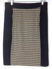 Buy Carolina Herrera Skirt 8 Womens Black Wool Pencil